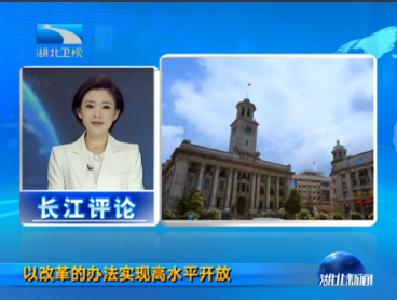 V视丨长江评论:以改革的办法实现高水平开放