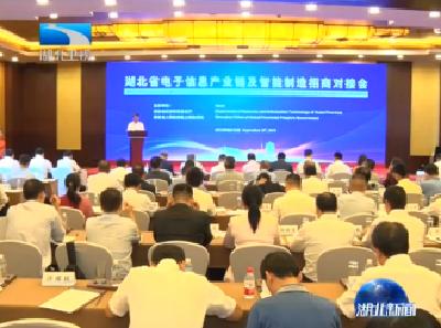 V視丨湖北省電子信息產業鏈及智能制造招商對接會在上海舉行