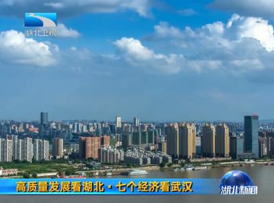 """V视丨高质量发展看湖北·七个经济看武汉 武汉: """"总部经济""""带来无限可能"""