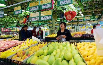 水果丰收价格稳 同比涨幅明显回落