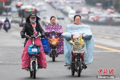 较强冷空气将影响中国 西南地区多阴雨天气