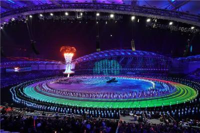 以和平之名拉紧友谊纽带——第七届世界军人运动会闭幕式侧记