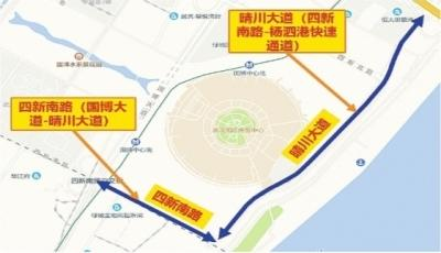 今起,军运会专用道地面层全部放开 注意!快速路、高架路专用道仍受管制
