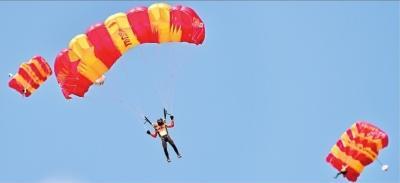 3年来举办多项航空国际赛事 武汉已成天空之城