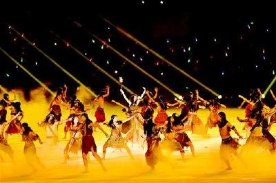 震撼!浓郁!奇幻!——军运会开幕式及文艺表演获盛赞