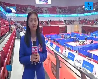 乒乓球混雙四強出爐 中國隊獨占三席