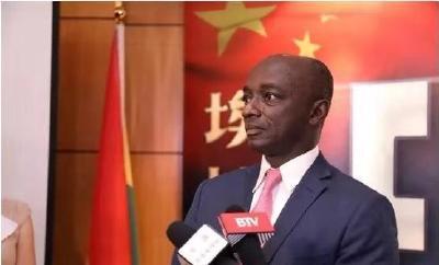 中國與加納合拍故事片《埃博拉》簽約