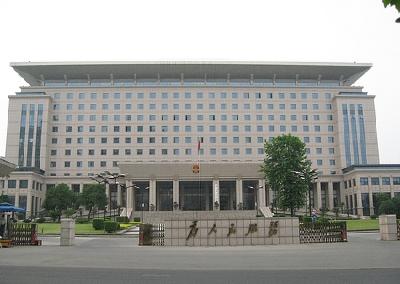 蒋超良与中宣部副部长、中央广电总台台长慎海雄座谈