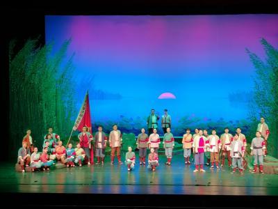 《洪湖赤衛隊》赴京演出 經典唱響新時代