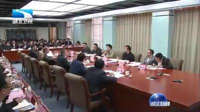 王艳玲到武汉轻工大学调研 宣讲党的十九届四中全会精神