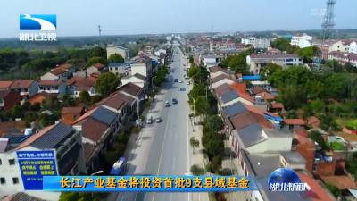 V视 | 长江产业基金将投资首批9支县域基金