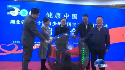 V视 | 湖北省第二十届青少年爱国主义读书教育活动启动