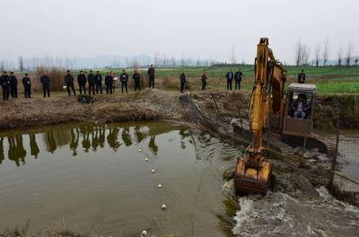 清四乱 湖北清理非法占用河道岸线9500多公里