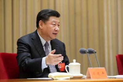 习近平会见韩国总统文在寅