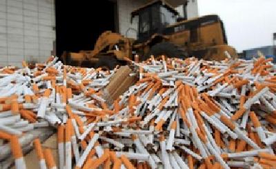 我国近期查获假烟7.86万件 依法拘留犯罪嫌疑人1666人
