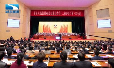 蒋超良出席政协湖北省第十二届三次会议开幕大会并讲话
