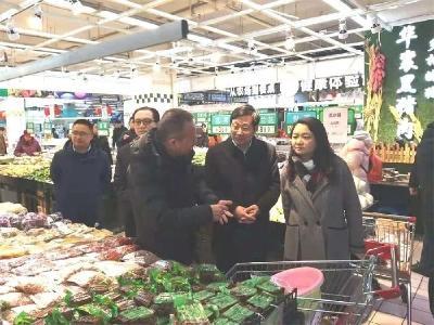 地方动态 | 襄阳市市场监管局对节前市场安全进行暗访检查