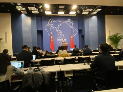 中国驻外使领馆总数超美国成全球第一?耿爽:不是为了与谁较量