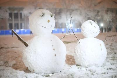 美!2020年第一场大雪冲上热搜!湖北近期有望下雪么?