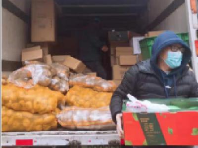 """覆盖1114个小区!配送总量达1929.29吨!武汉推广蔬菜进社区""""无接触直供"""""""