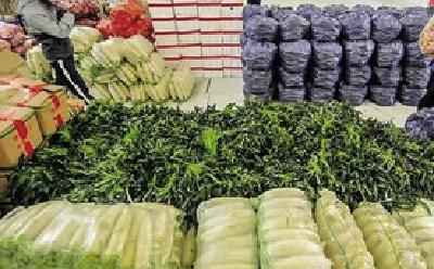 武汉蔬菜储备达3.44万吨  近九成药店正常营业