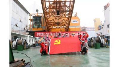 抗疫保畅:长江航道建设复工进行时