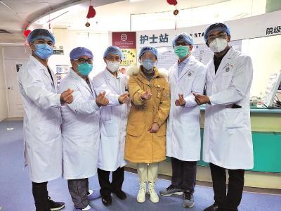 湖北省800余名新冠肺炎患者相继出院