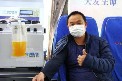 """战""""疫""""镜头丨黄冈市第二例新冠肺炎康复者捐献抗疫血浆"""