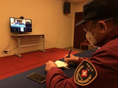 截至22日,山西医疗队在湖北累计已治愈出院508人