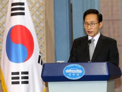韩法院判处前总统李明博17年有期徒刑 重新收监