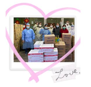 """特别的""""爱""""给特别的你!武汉体育持续为特殊家庭捐赠物资"""