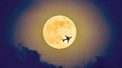 月圆人团圆!武汉开启离汉通道当日,将现年度最大满月