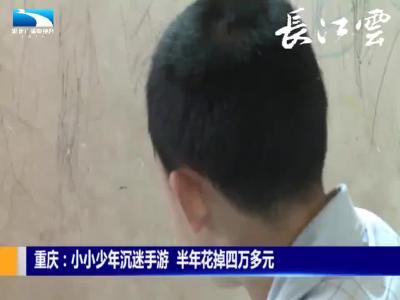 重庆:小小少年迷手游  半年花掉四万多元