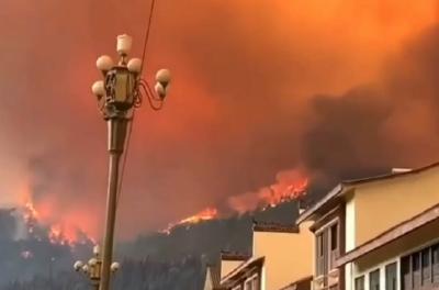 西昌火灾市民称火比去年大