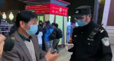 刚刚,武昌火车站第一个出城旅客进站候车!