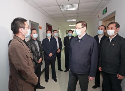 应勇走访省委主要部门:发挥职能作用,确保疫情防控和经济社会发展两手抓两不误