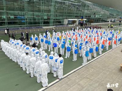 复航倒计时 | 消杀天团出动 武汉天河机场进行封闭式全面消杀
