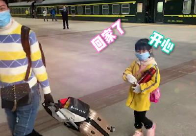 欢迎回到武汉!今天凌晨,K81次列车抵达武汉