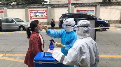 兰州市城关区设置7处临时核酸检测集中采样点