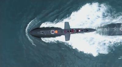 震撼丨3分47秒,浓缩人民海军挺进深蓝的壮美航迹