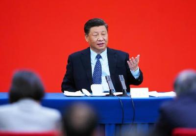 """2020两会下团组 习近平给出中国经济发展之""""策"""""""