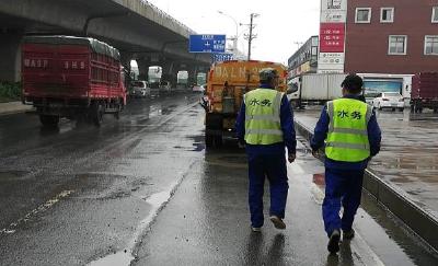 应对强降雨!武汉市启动排涝保畅部门联动工作机制