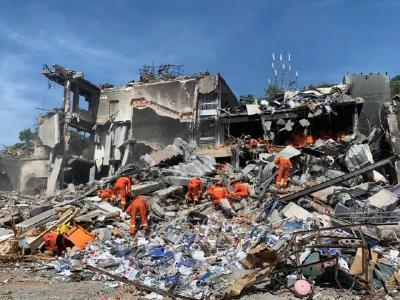 时间轴还原浙江温岭槽罐车爆炸事故救援现场