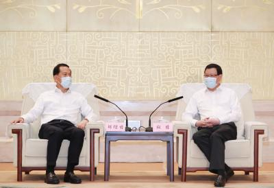 湖北仍是战略要地、开放高地、投资宝地!应勇王晓东与东航集团董事长座谈