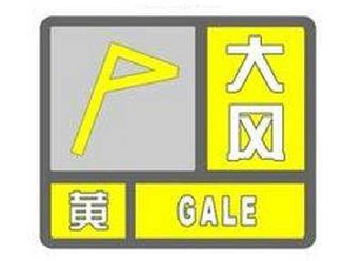 湖北省多地发布大风黄色预警 局部有8-10级大风并伴有雷电