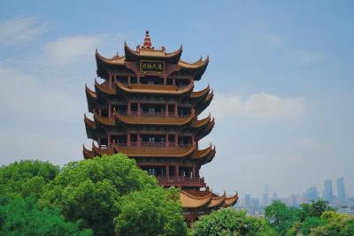 烟火武汉丨黄鹤楼上,熟悉的风景又回来了