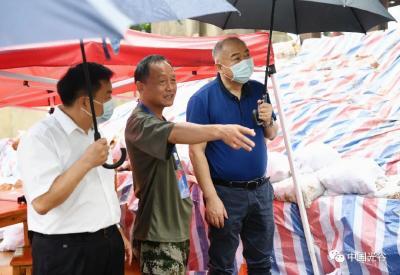 胡立山对东湖高新区防汛工作再检查再部署