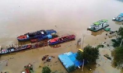 今日12时,荆门市防汛应急响应提升为II级