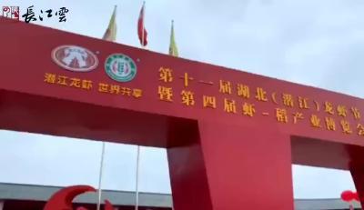 潜江龙虾节,超有国际范儿