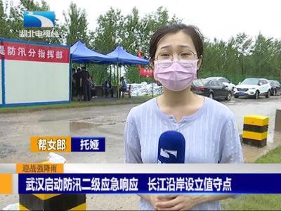武汉启动防汛二级应急响应  长江沿岸设立值守点